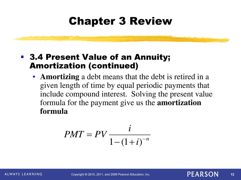 chapter 3 mathematics of finance ppt download