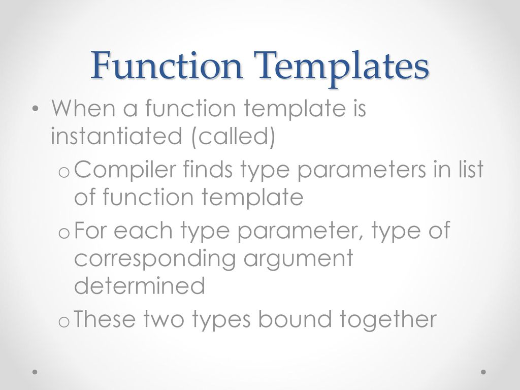C++ Templates. - ppt download