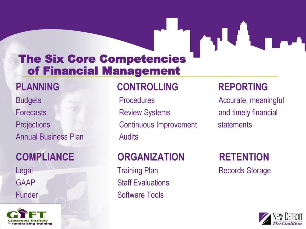 Power In Numbers Breaking Down Budgets Financials Ppt Download Software Accurate Finance The Six Core Competencies Of Financial Management