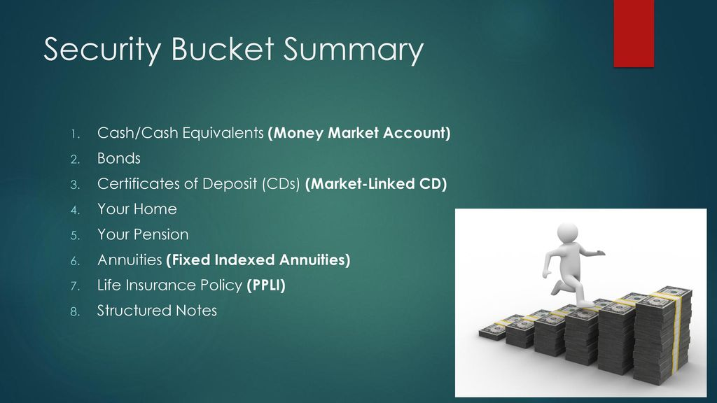 The Security Bucket By Jt Fredericks Ppt Download
