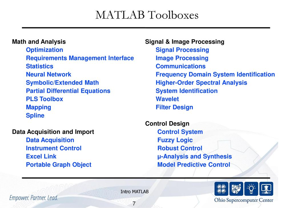 MATLAB for Engineering Applications - ppt download