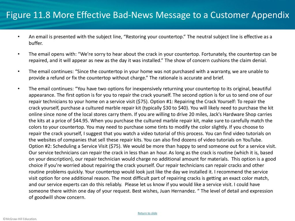 Bad News Letter To Employees Sample from slideplayer.com