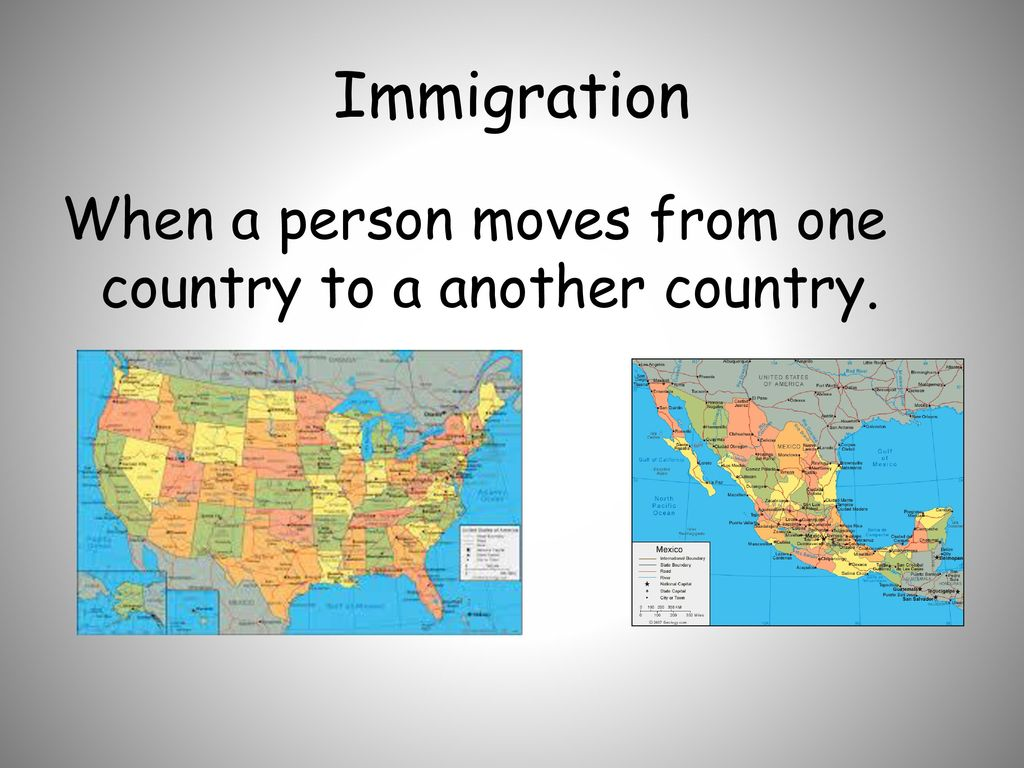 what is immigration? 3rd grade unit 4 - ppt download