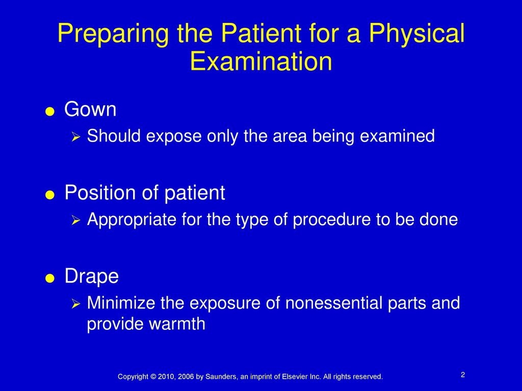 Assisting with the Physical Examination - ppt download