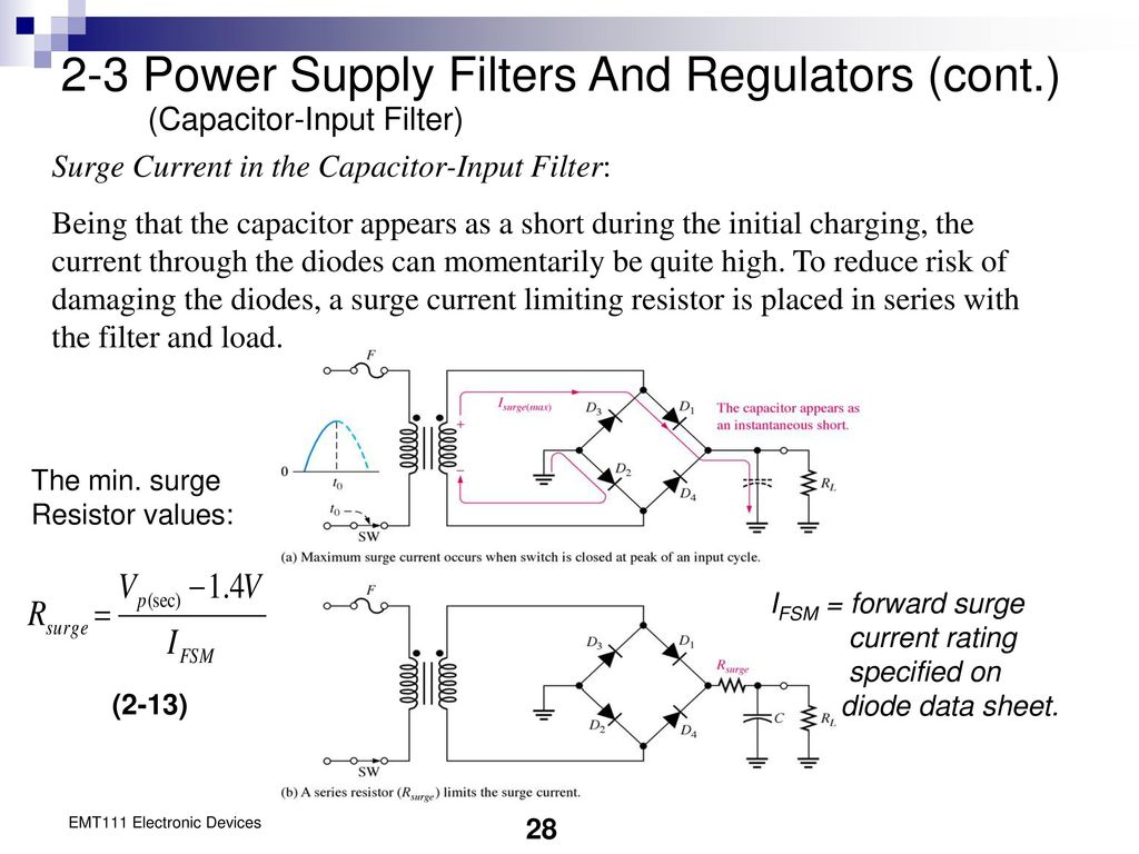 Chapter 2 Diode Applications Ppt Download Levels 78xx Series Ics May Be Employed With The Above Explained Power 3 Supply Filters And Regulators Cont