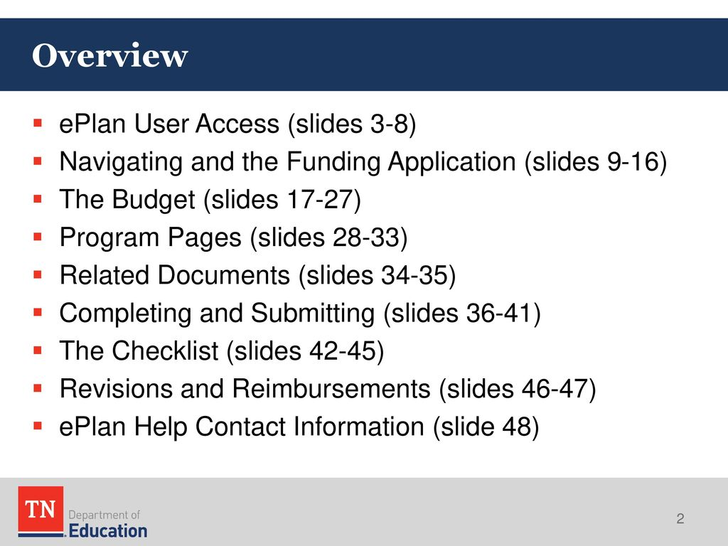 The Voluntary Pre-K Application in ePlan - ppt download