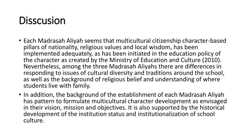 Islamic Values within the Context of Multicultural