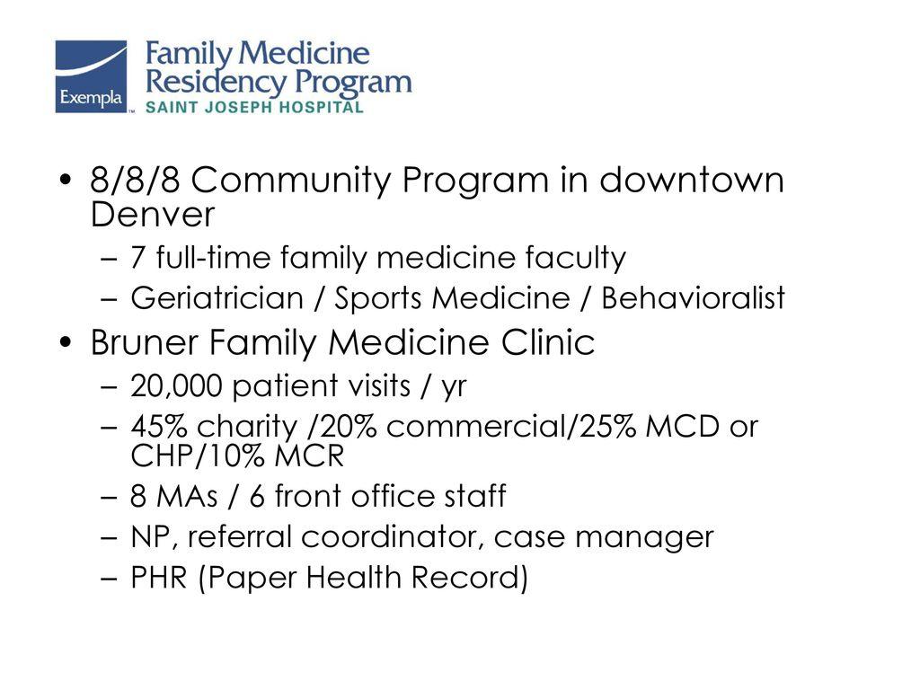 Bruner Family Medicine Denver The Best Family Of 2018