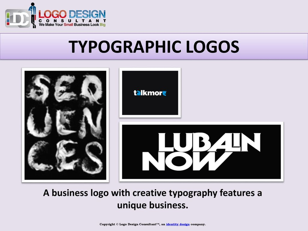 Copyright © Logo Design Consultant™ - ppt download