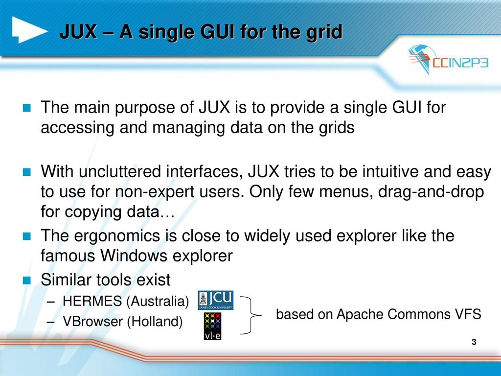JUX (Java Universal eXplorer) - ppt download