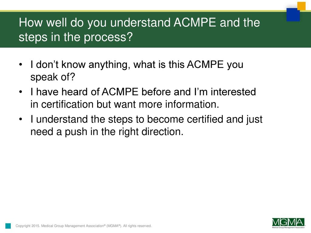 Promoting Your Professional Development With Acmpe Ppt Download