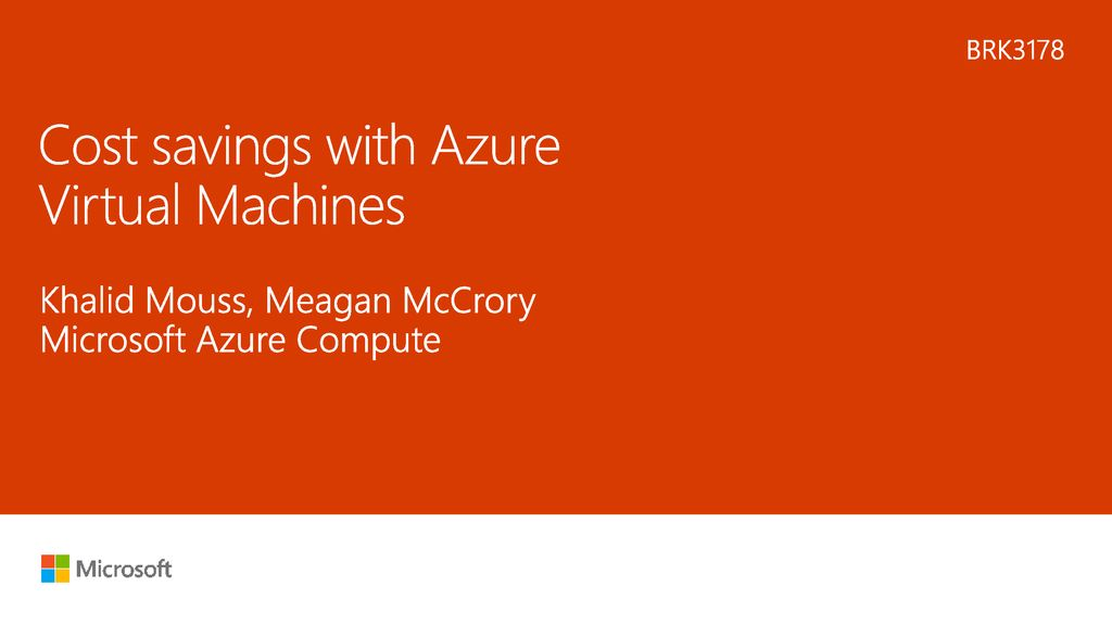 Cost savings with Azure Virtual Machines - ppt download