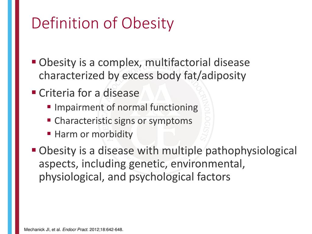 what is the disease of obesity? - ppt download
