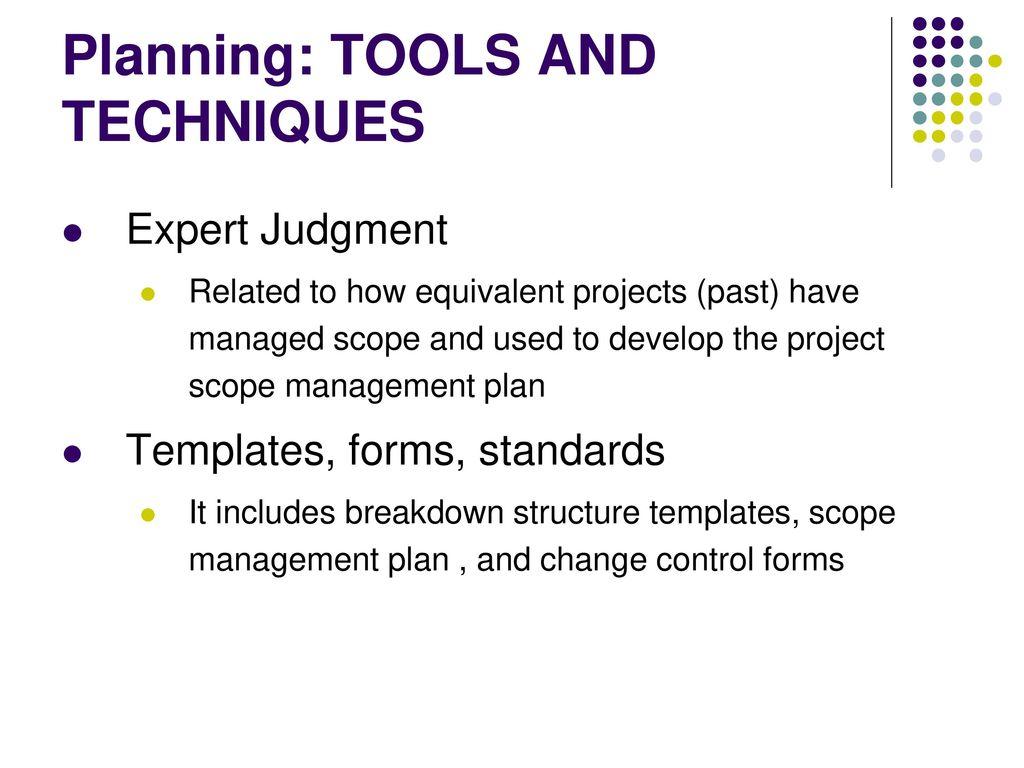 Project Scope Management Ppt Download