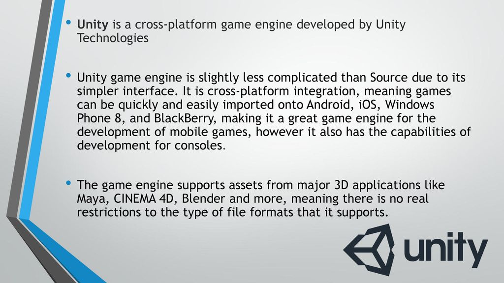 The Purpose of game Engines - ppt download
