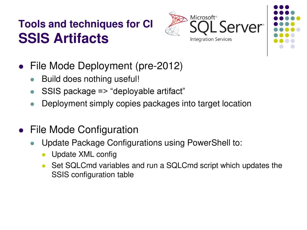 Continuous Integration and the Data Warehouse - ppt download