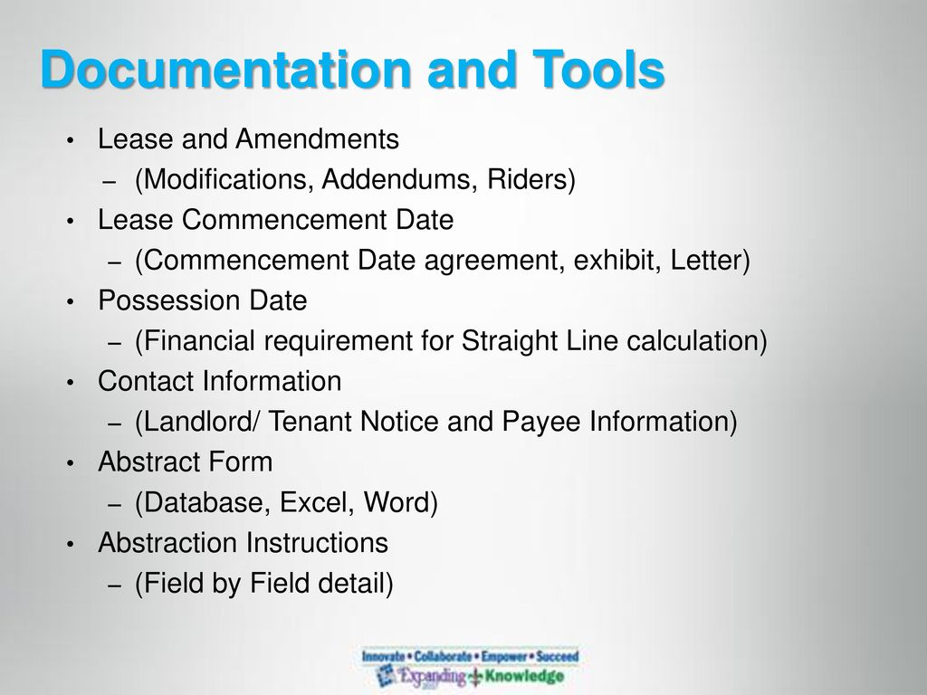 7 Documentation And Tools