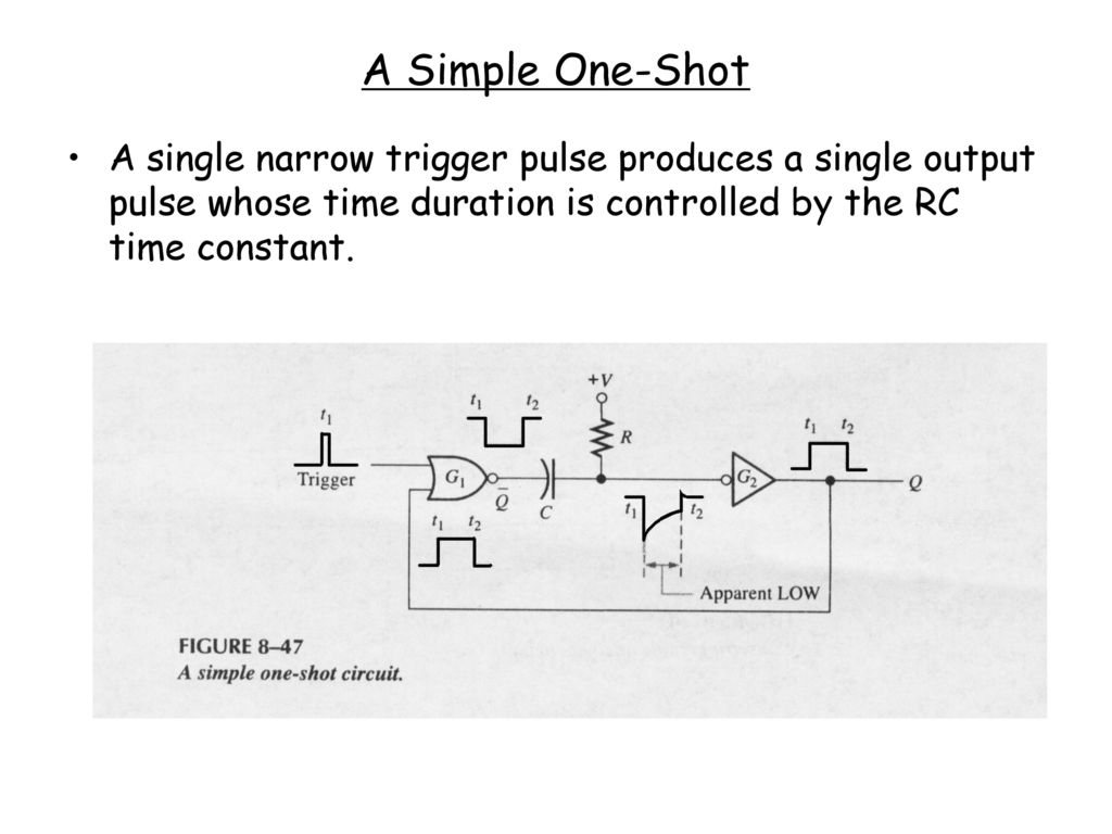 Ei205 Lecture 8 Dianguang Ma Fall Ppt Download R C Time Constant Circuit Diagram 51 A Simple One Shot Single Narrow Trigger Pulse Produces Output Whose Duration Is Controlled By The Rc