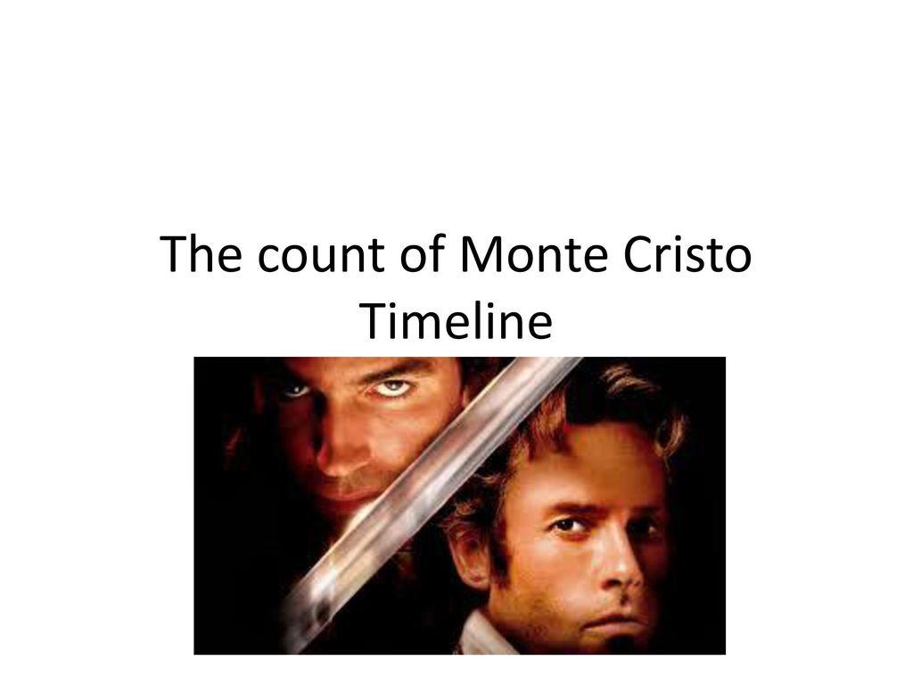 Presentation On Theme The Count Of Monte Cristo Timeline Transcript 1