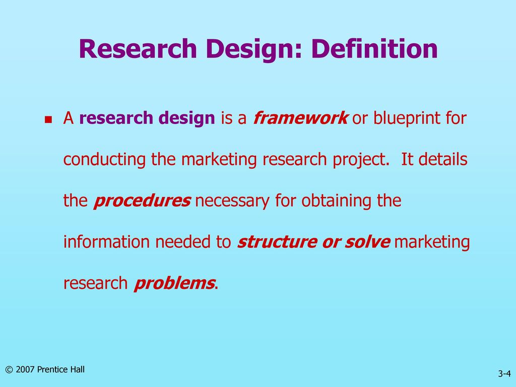 Chapter three research design ppt download 4 research design definition malvernweather Image collections