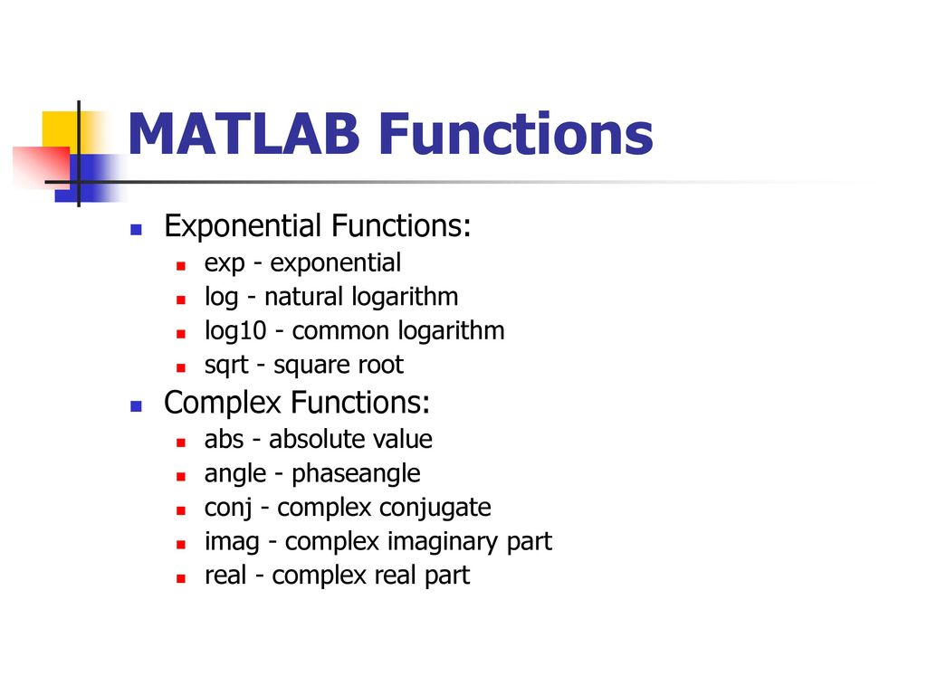 Matlab Introduction  - ppt download