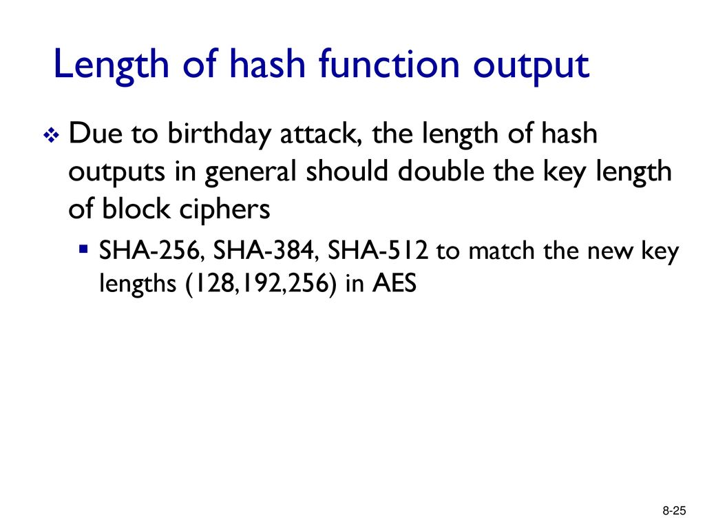 CSE 4095 Digital Signatures and Hashing - ppt download