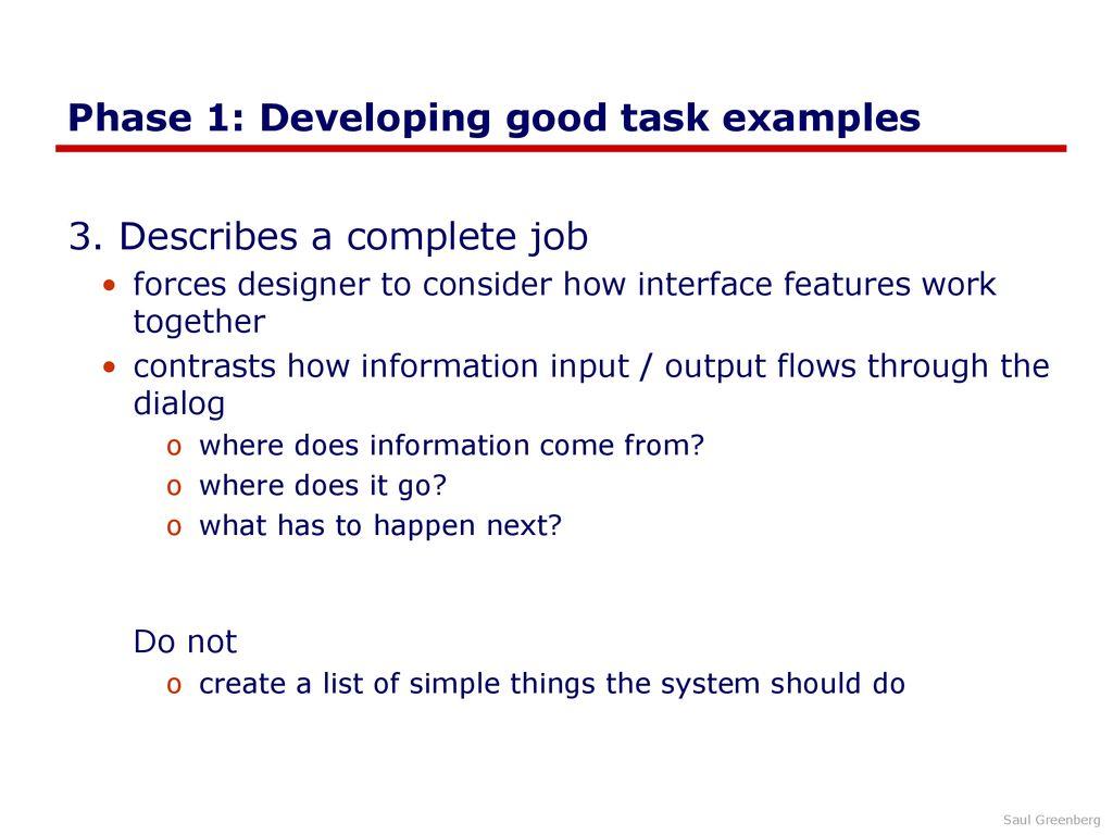 Task-Centered System Design - ppt download