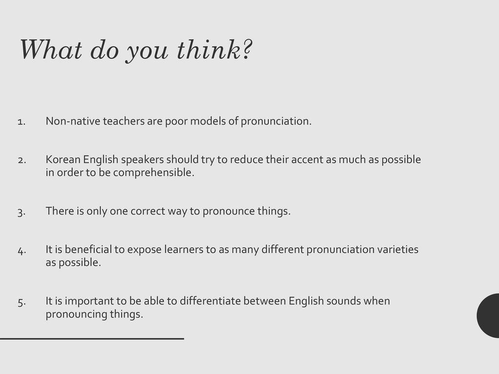 Comprehensible Pronunciation - ppt download
