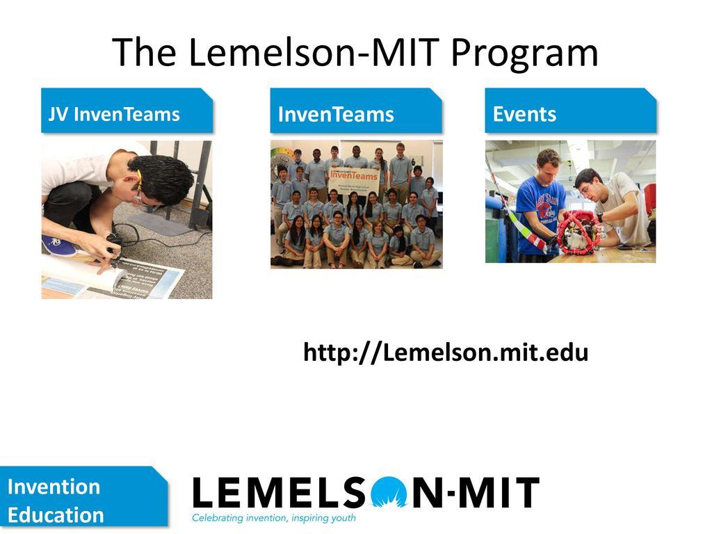 d080433bec4ac 5 The Lemelson-MIT Program JV InvenTeams ...