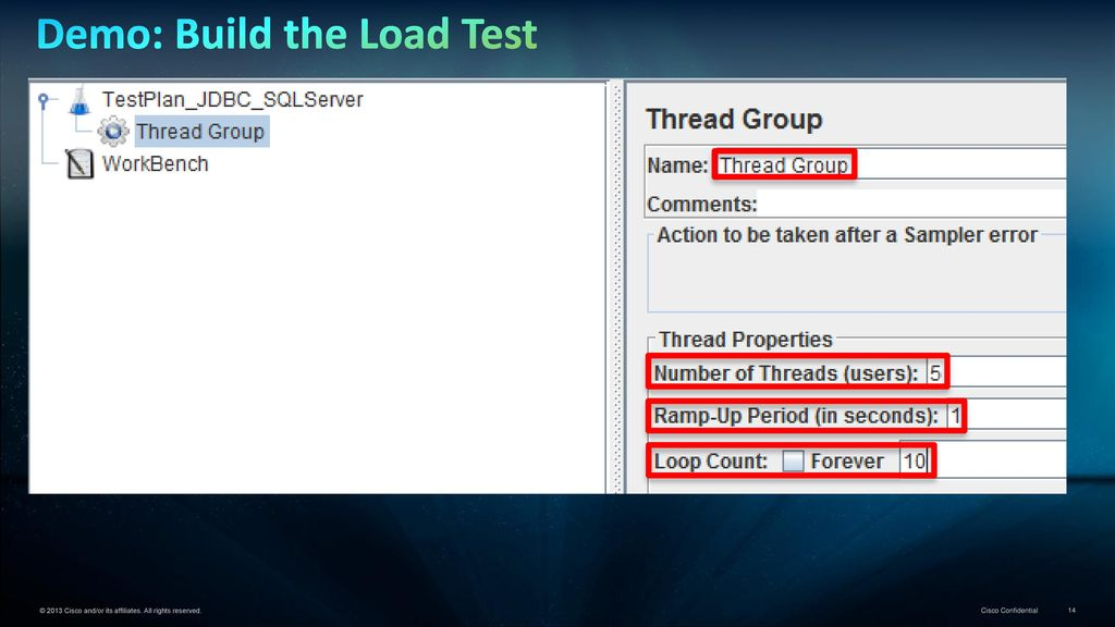 Data Virtualization Demoette… JMeter Load Testing CIS JDBC