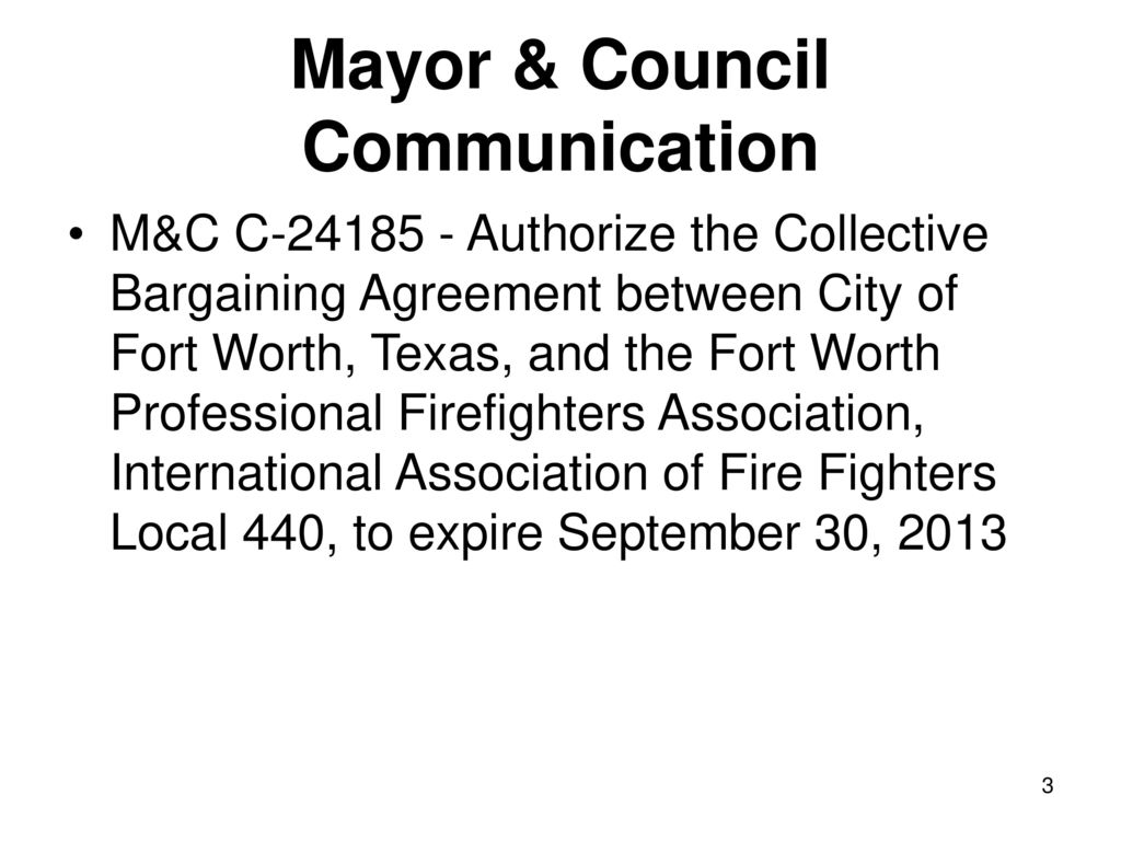 Collective Bargaining Agreement Ppt Download