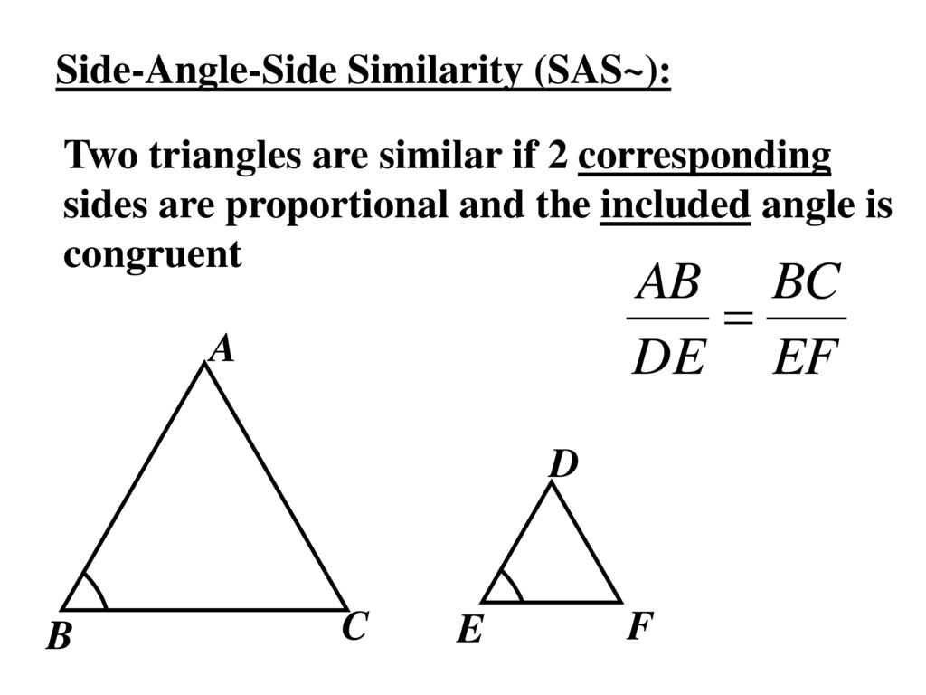 Worksheets Proving Triangles Similar Worksheet 6 5 prove triangles similar by sss and sas ppt download 3