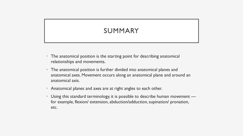 Anatomy Ppt Download