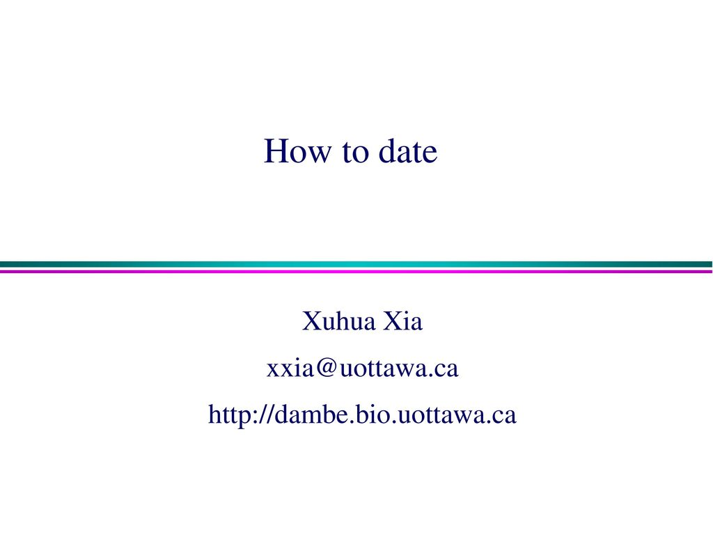 Dating uottawa