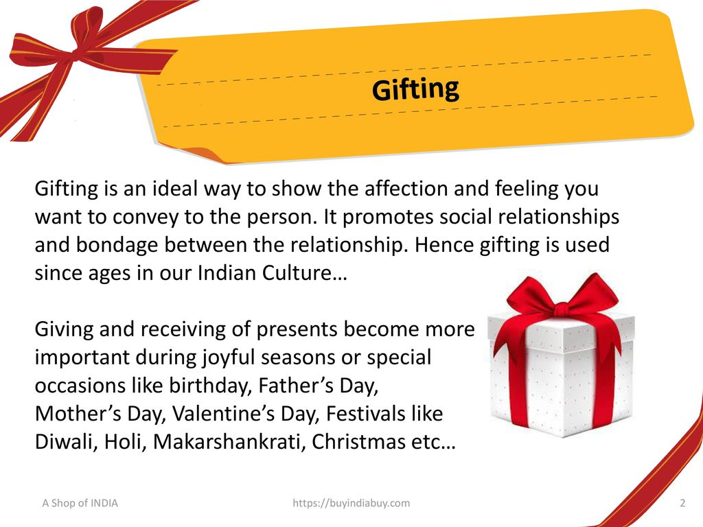 Shop Online Gift Ideas & Gift Items in India - ppt download