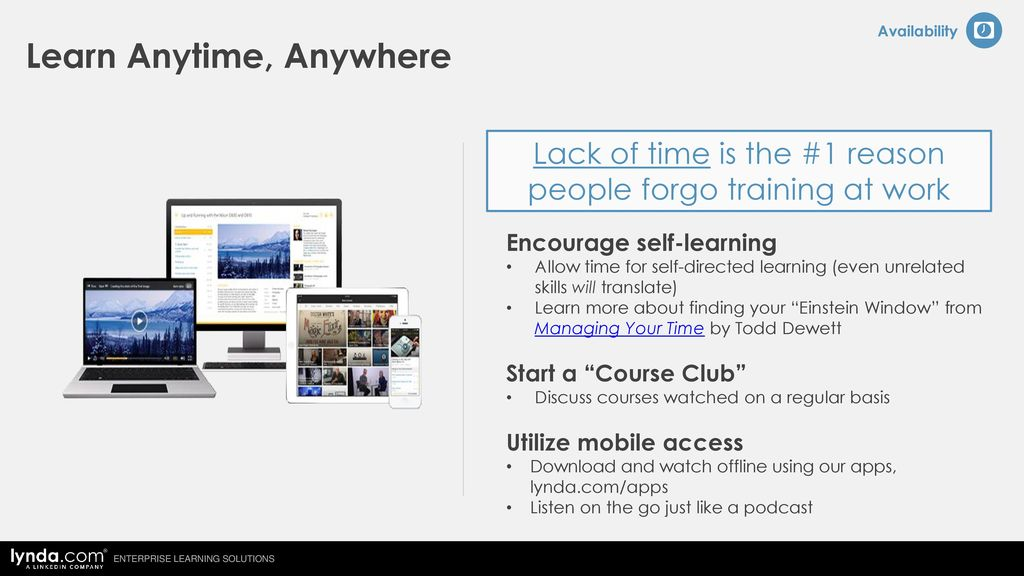 lynda com Cost-Effective Online Video Training - ppt download