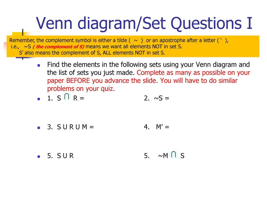 Venn diagrams in this powerpoint you will learn about venn diagrams 18 venn ccuart Images
