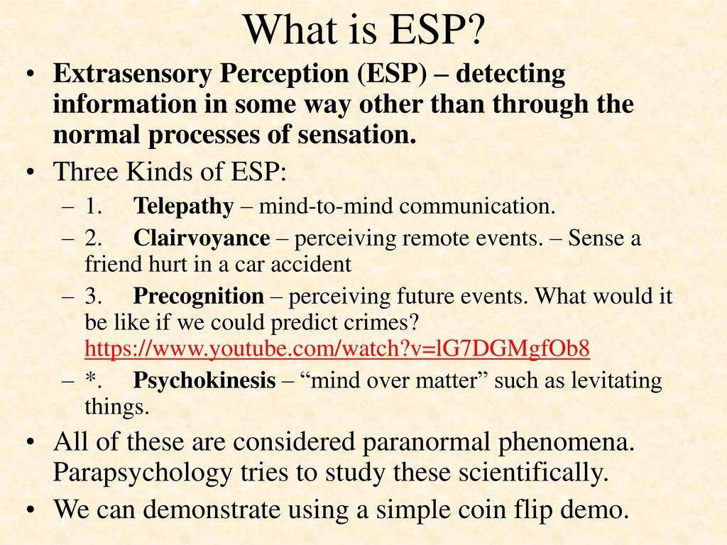 What is ESP
