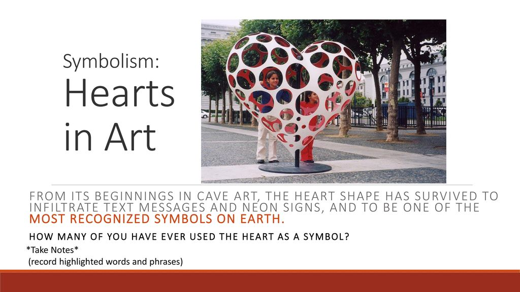 Symbolism Hearts In Art Ppt Download
