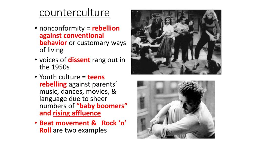 examples of nonconformity in movies