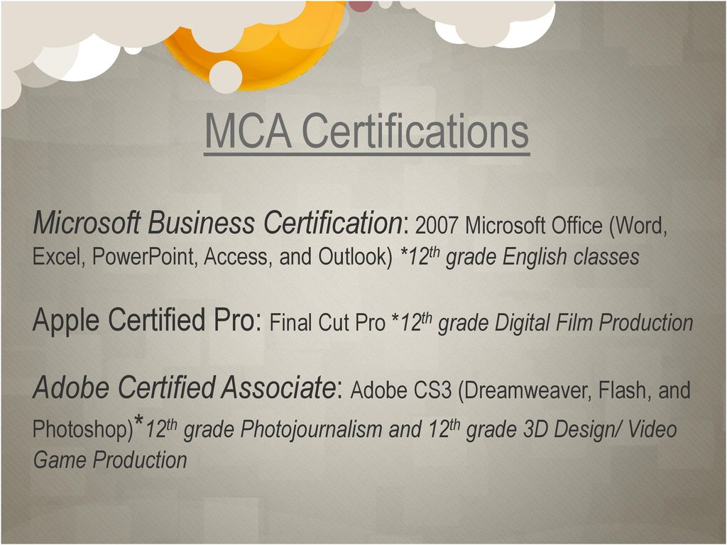 Multimedia Careers Academy - ppt download