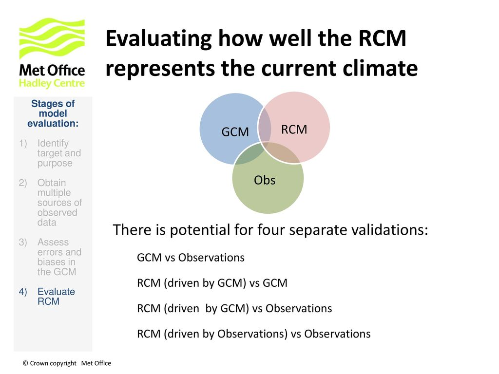 Evaluating RCM Experiments - ppt download