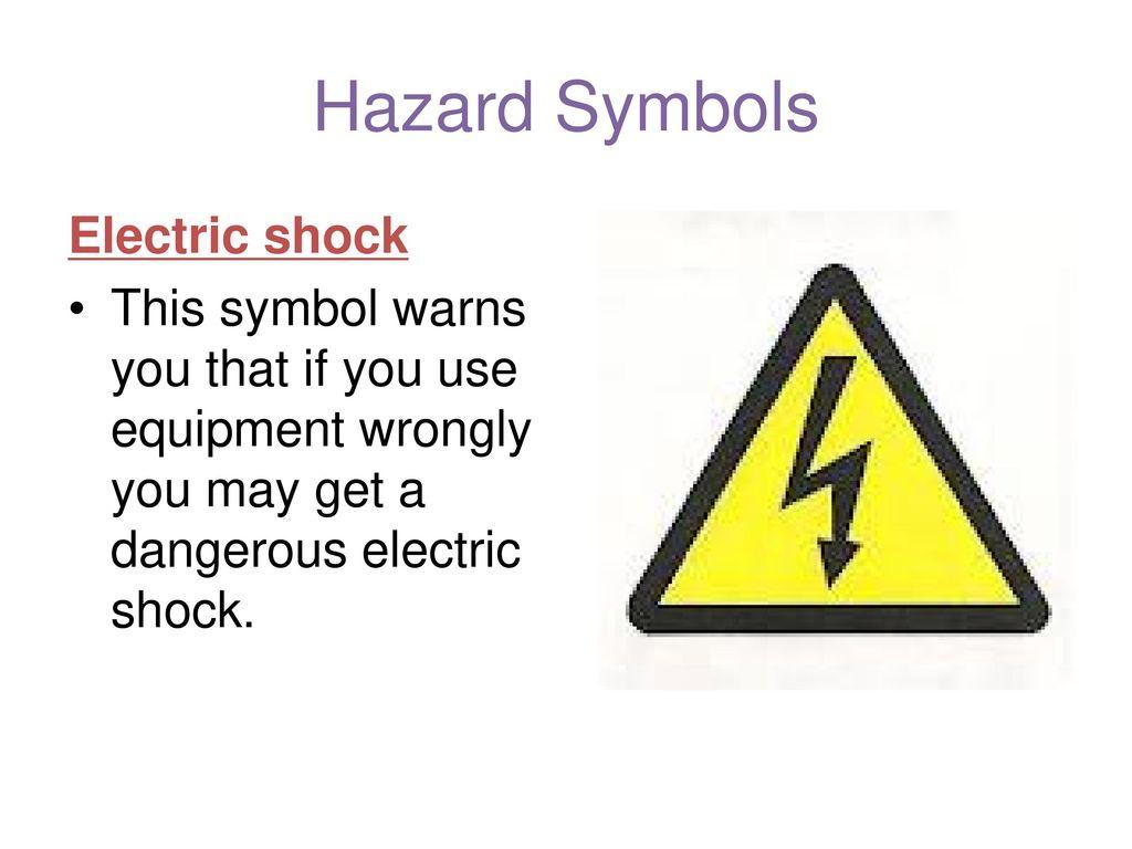 Hazard Symbols Lo To Be Able To Identify A Range Of Hazard Symbols