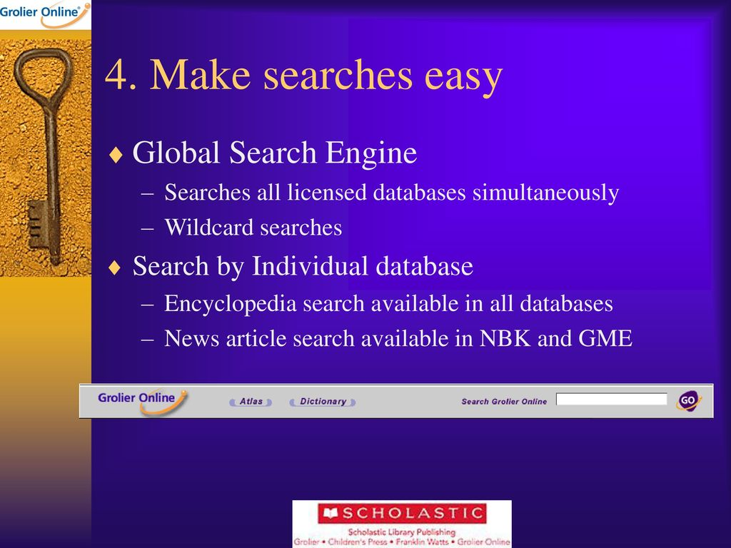 Make Searches Easy Global Search Engine