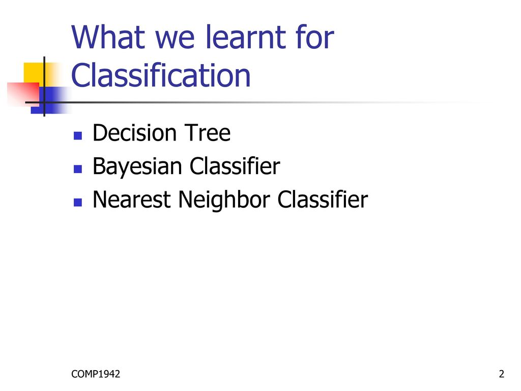Other Classification Models: Neural Network - ppt download