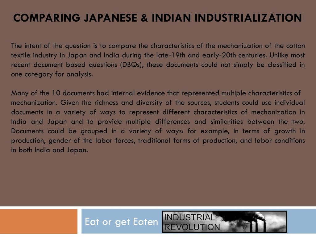 cotton textile industry in japan