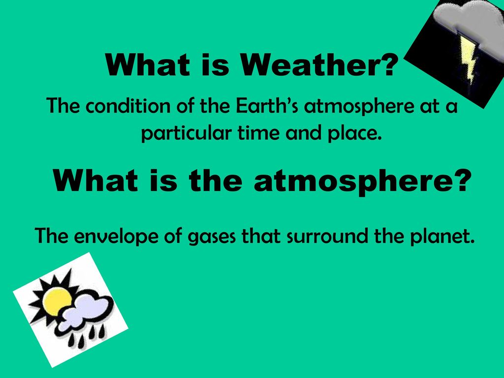 What Is Weather What Is The Atmosphere Ppt Download