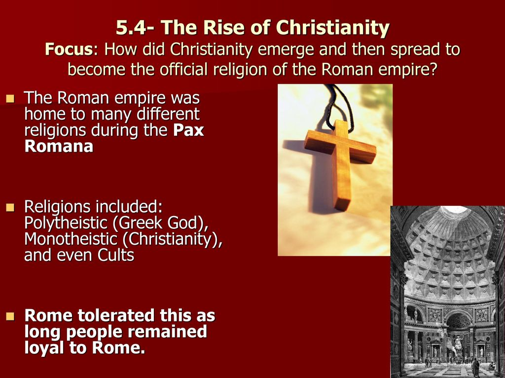 the embracing of christianity in roman society Political christianity in the early church by robin phillips  society this is precisely what a cult does not do a cult is a personal worship hobby it does not structure one's life nor does it structure society  christianity: the officials of the roman empire in time of persecution sought to force the christians to sacrifice, not to.
