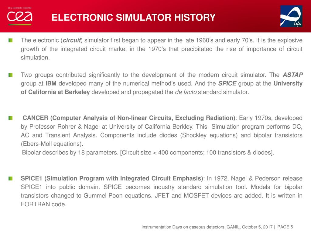 Review of electronics simulations Pascal Baron (CEA-Irfu) - ppt download