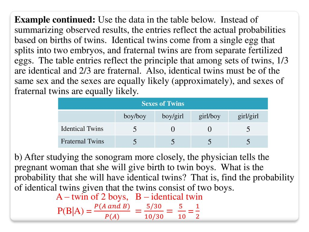 The Multiplication Rule: Complements and Conditional Probability ...